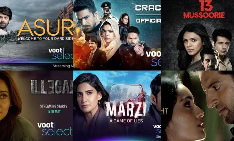 All Voot Web Series Cast and Actress List